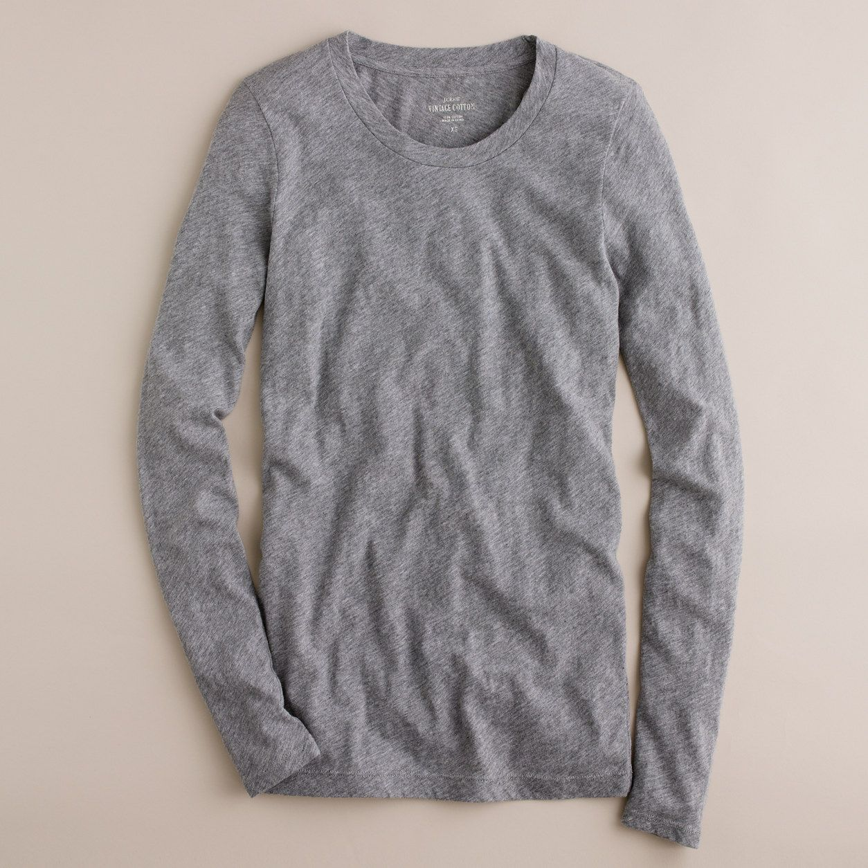 Jcrew womens vintage cotton longsleeve tshirt size products