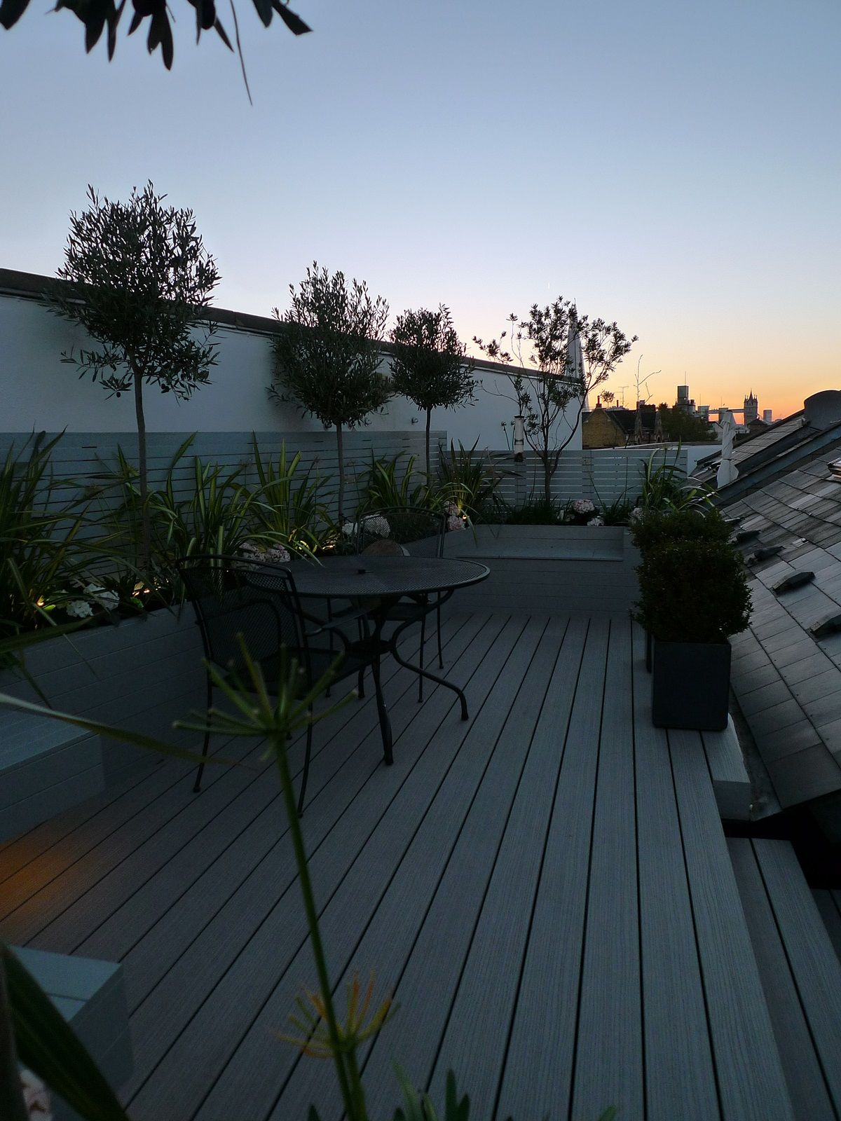 Garden Designers London Painting New Roof Garden Design London Composite Decking Hardwood Painted . Decorating Design