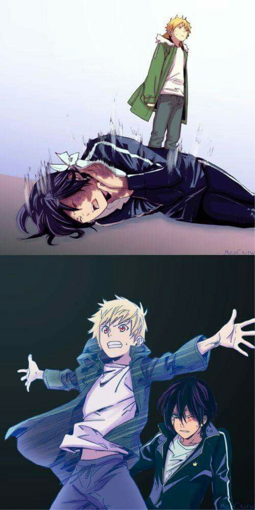 noragami yukine and yato character development