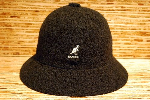 dd2a8af9c4945 Kangol-Run DMC Bucket HAt now in 3 colors at rime black
