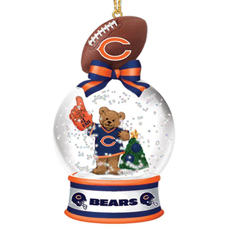 Chicago Bears Snow Globe Ornament Globe Ornament, Chicago Bears, Christmas  Images, Snow Globes - Chicago Bears Snow Globe Ornaments - Your 1st One Is FREE Chicago