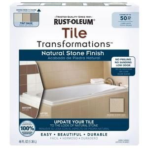 Rust Oleum Transformations 1 Kit Tile Transformations Natural Stone  Finish 268546 At The Home
