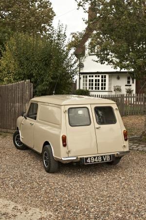 a64bebc3ac Austin Mini van 1963 Beige For Sale