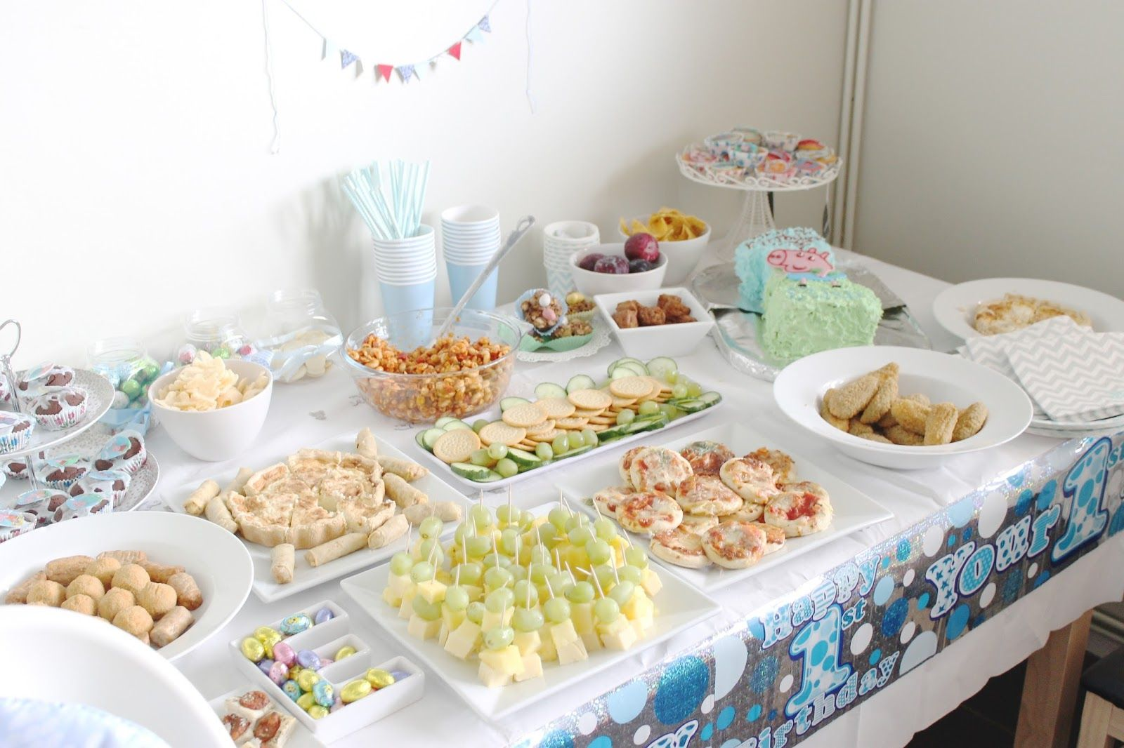 Ethans 1st Birthday: The Party & Decor! | Birthday party ...