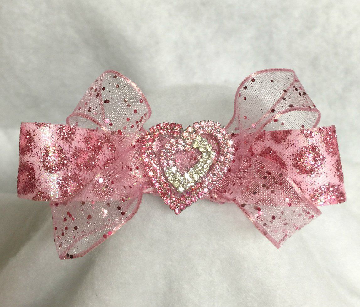 """Sugarlicious cats â""""¢ PINK LEOPARD BOW Crystal"""