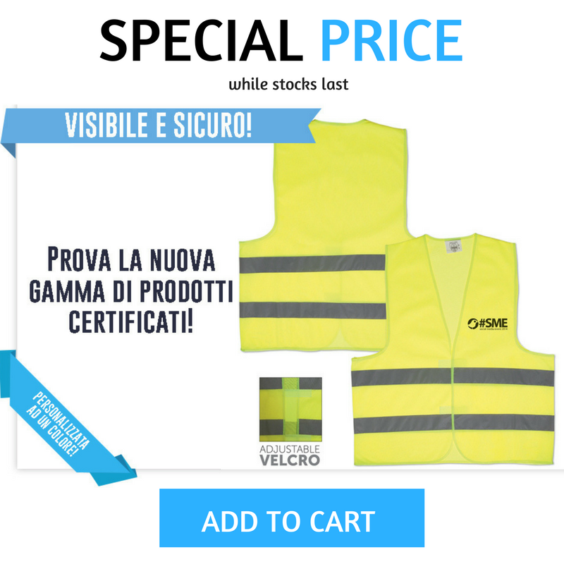 #specialprice! Reflective vest - customizable with your #logo! 👷🛠️🔦 More: http://www.sadesign.it/it/promozione #limitedtime #specialprice #offer #deal