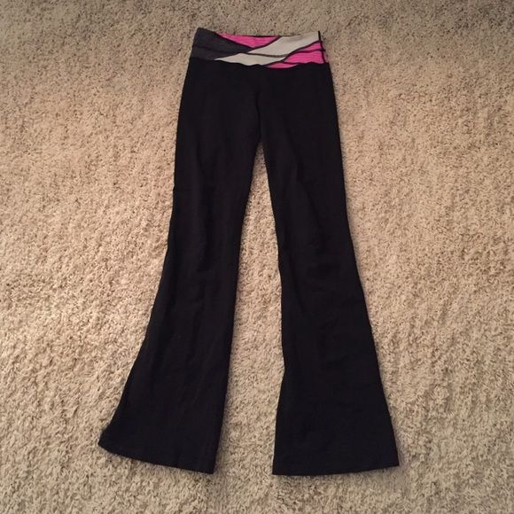 a11296c4b Lululemon Groove Pant (Regular) Black reversible yoga pants