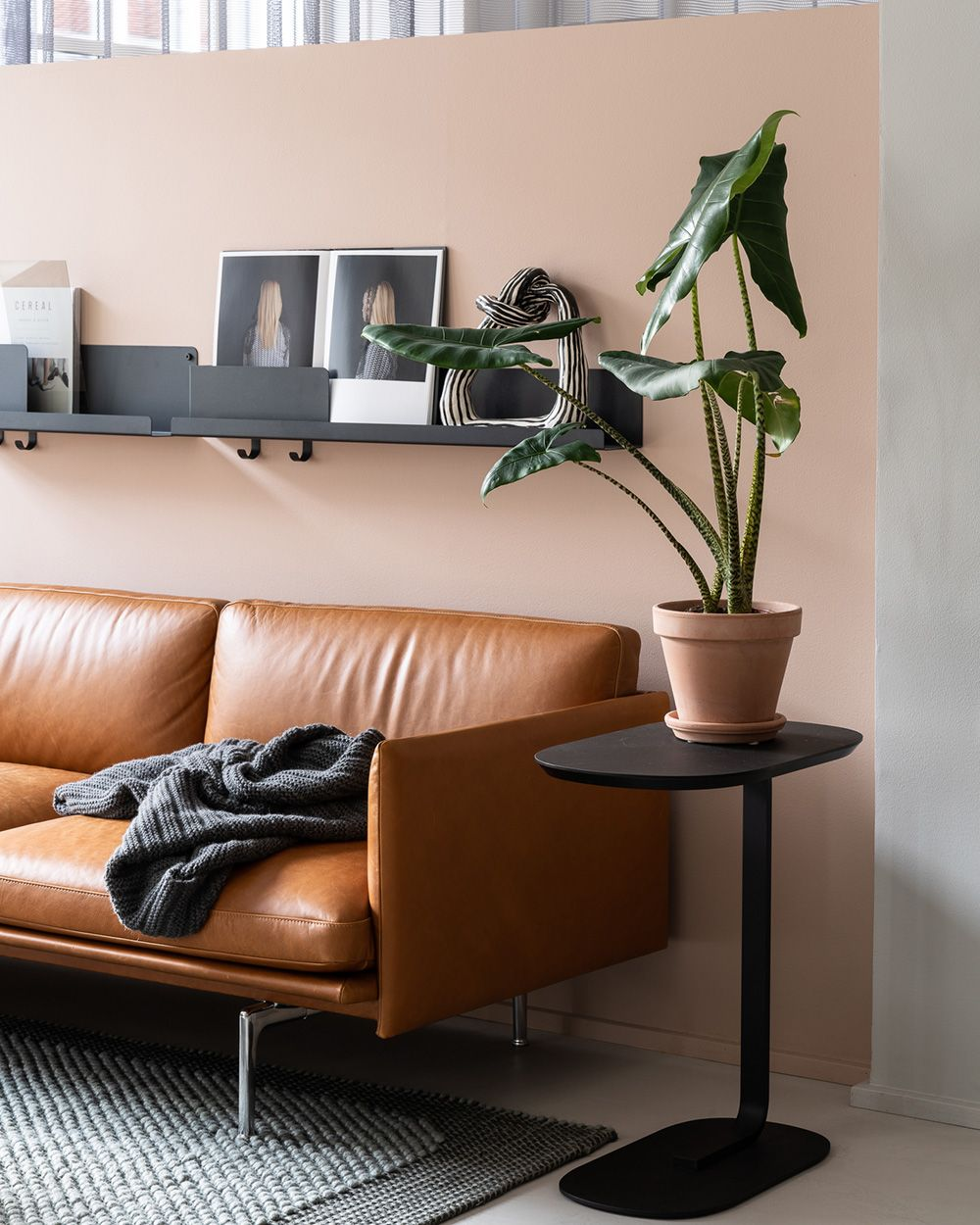 Clean And Timeless Scandinavian Leather Sofa Decor Inspiration From Muuto The Modern Living Room Inspiration Scandinavian Sofa Design Living Room Inspiration