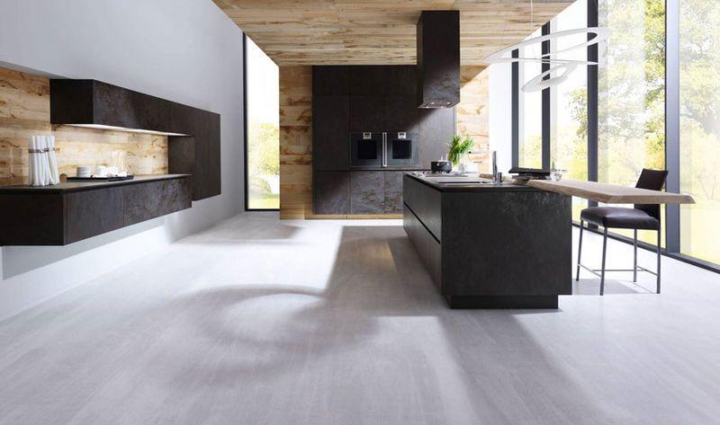 Schwarze Küche Alno u2026 Pinteresu2026 - u förmige küchen