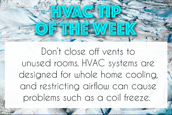 Want To Keep Your Home Comfortable Then Leave All Of Your Vents