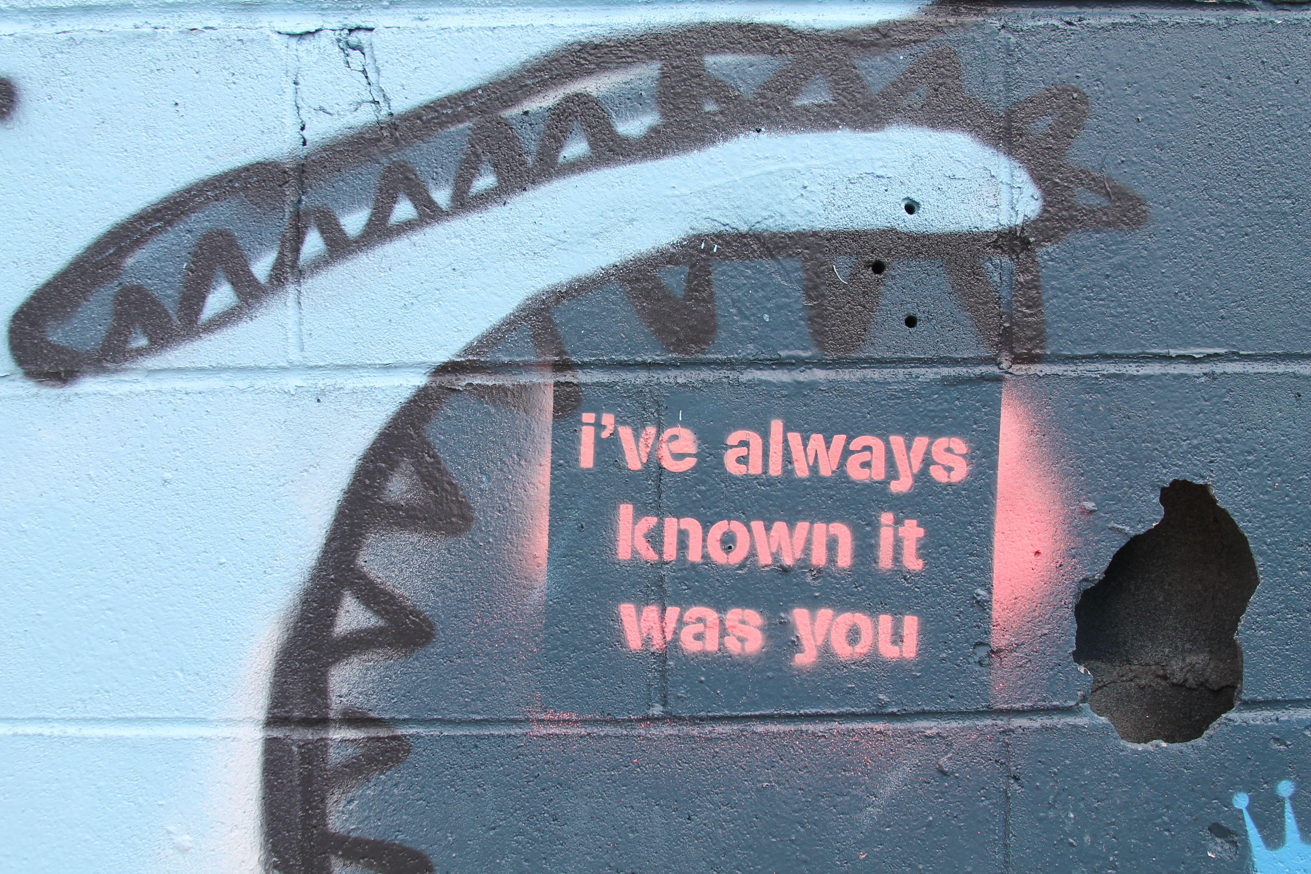 graffiti artwork quote