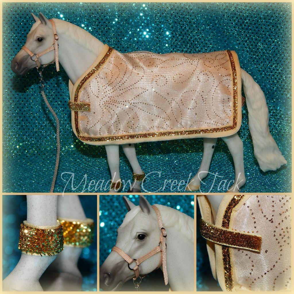 Blanket halter set for traditional breyer horse breyer