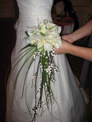 bouquet mariée tombant calla - recherche google | bouquet mariée
