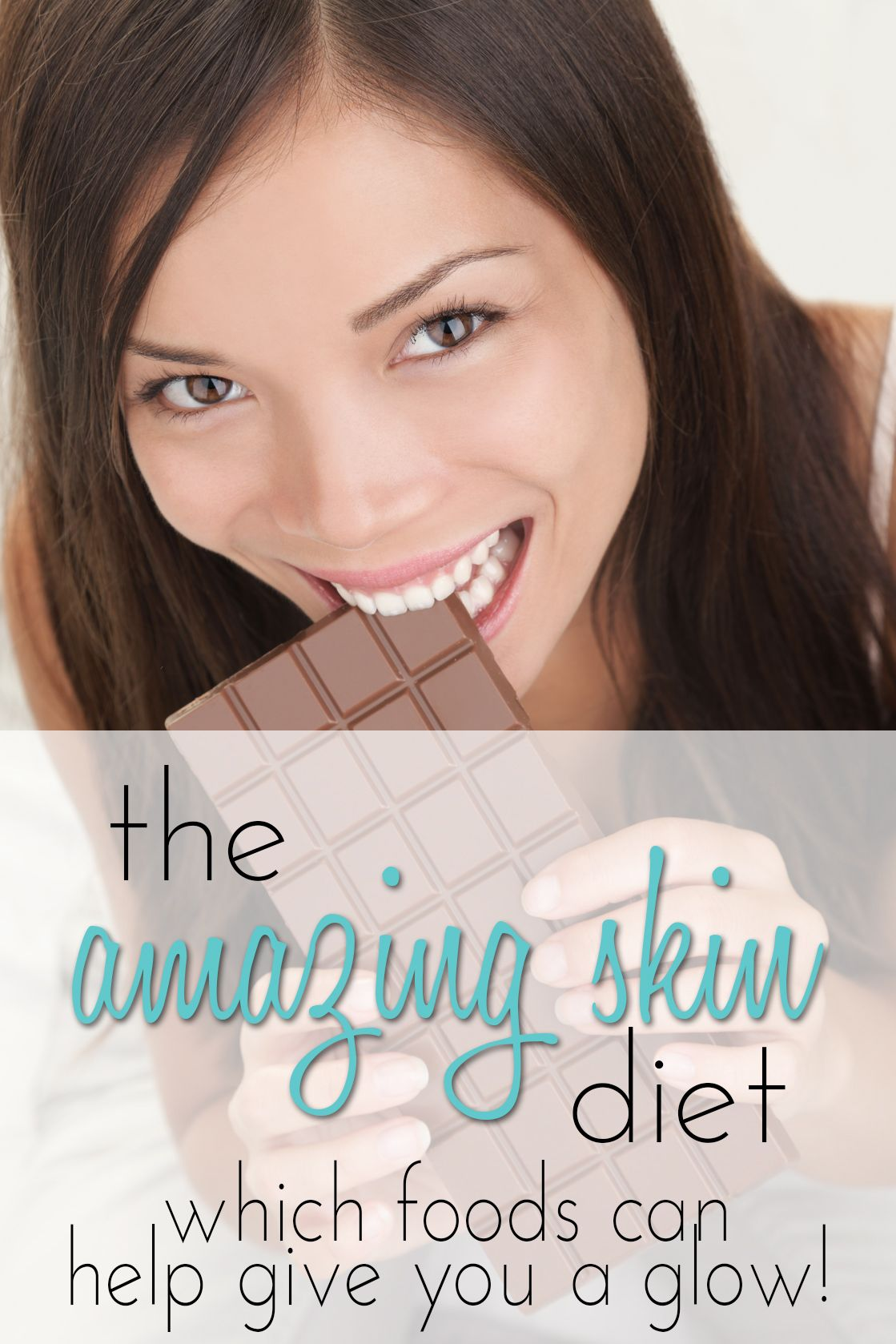 The Amazing Skin Diet: A Dermatologist Reveals What You Should Eat For Great Skin! #healthyskin