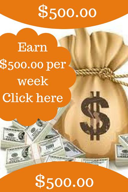 HOW TO EARN $500 00 PER WEEK ONLINE   Money save   Online