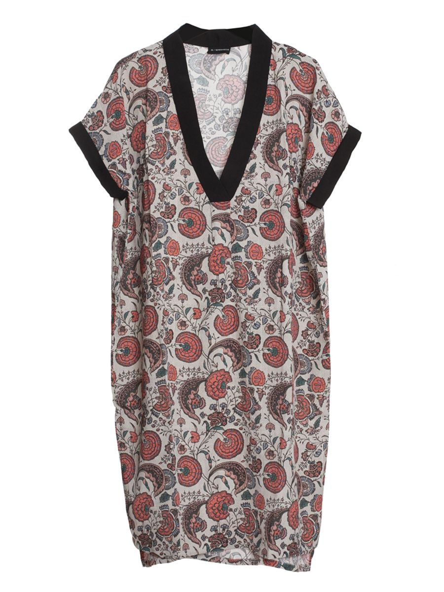M wiesneck wafa dress a simple shape loose fit and pretty floral