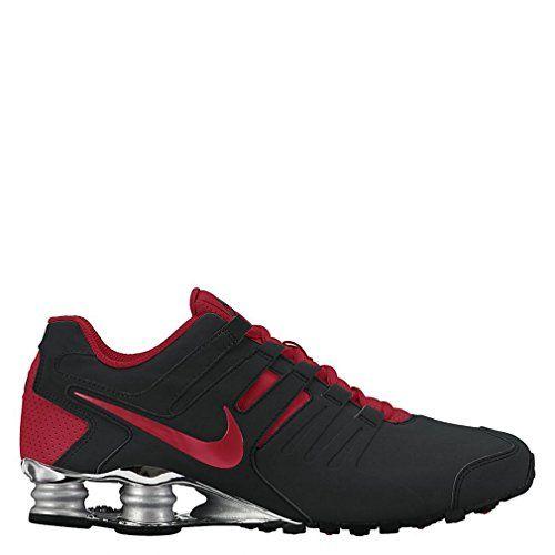 Nike Mens Shox Current Black Red 633631-013 Size 9.5 NIKE  131e34428