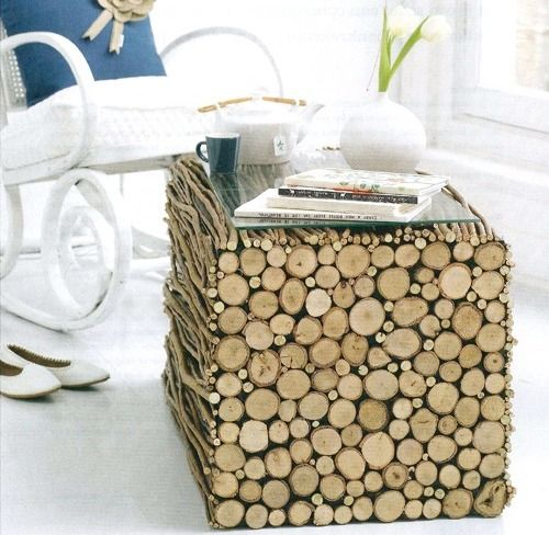 DIY Craft Ideas Roundup Wood TablesLog