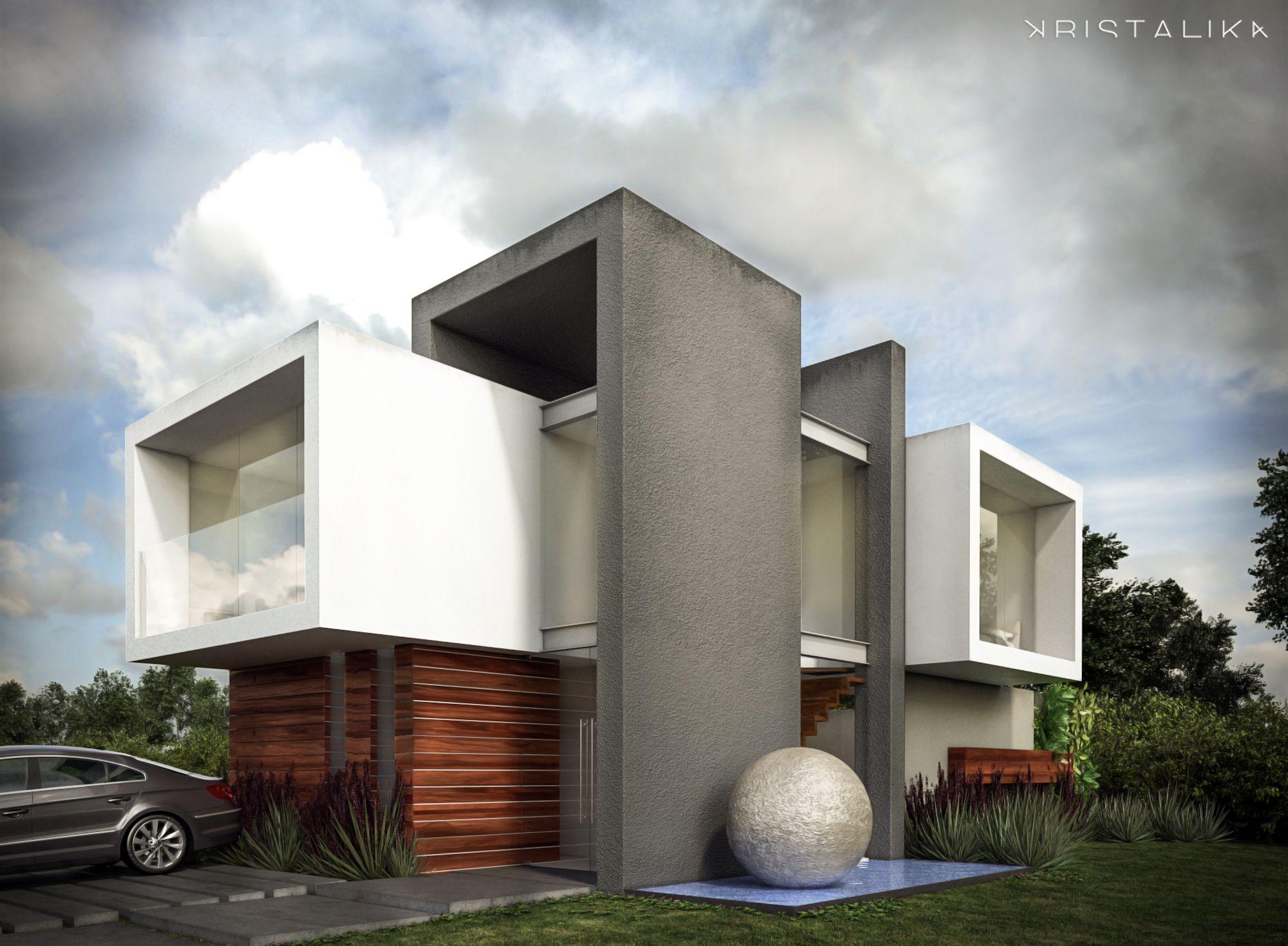 Cf House #architecture #modern #facade #contemporary #