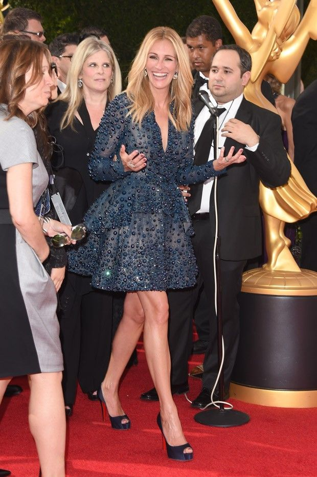 [620] Julia Roberts no Emmy Awards 2014 (Foto: Getty Images)