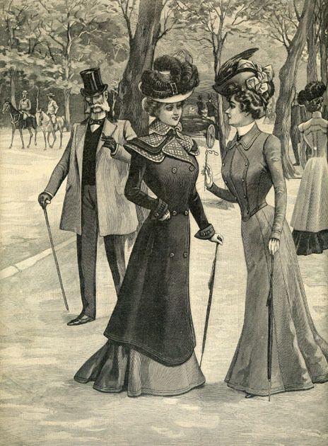 Vera Violetta: Fashion 1900s - 1910s