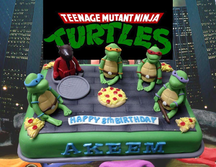 Ninja Turtles Cake - Cake by MsTreatz | Ninja turtle ...