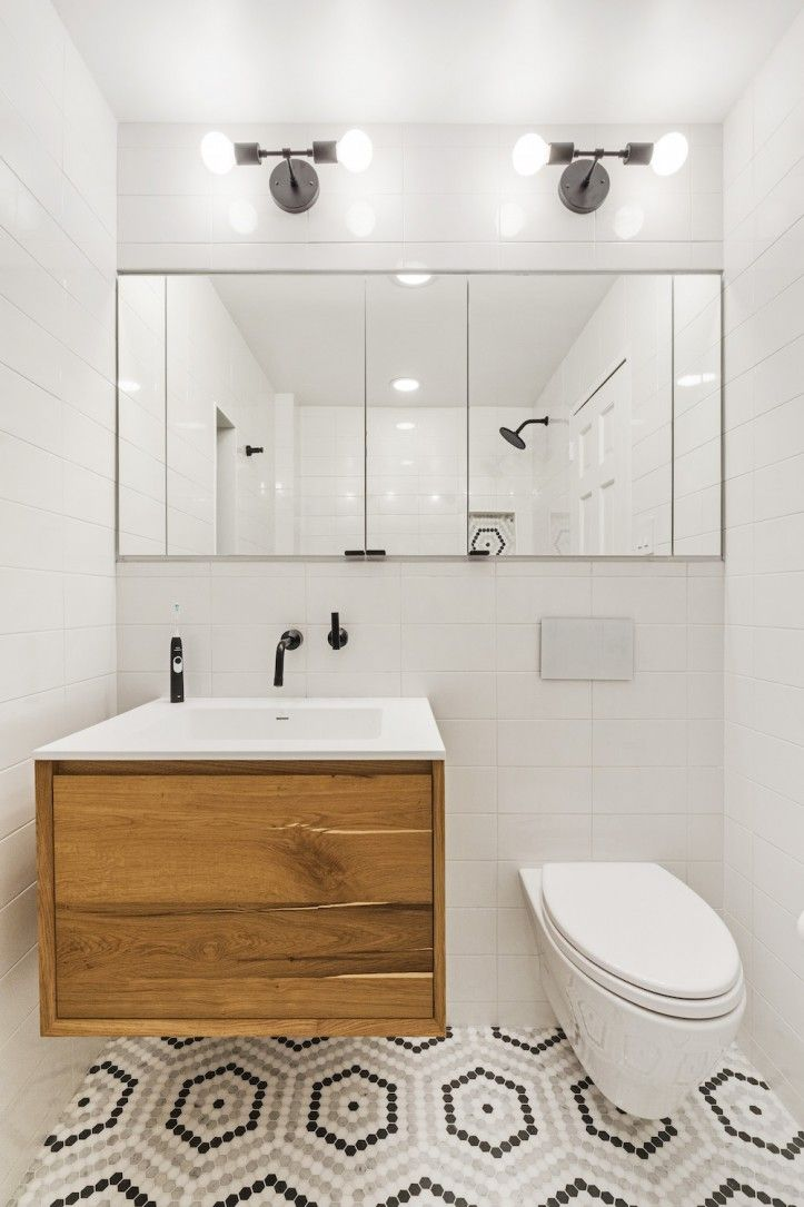 6 Renovations Featuring Wall-Mounted Faucets for the Bathroom