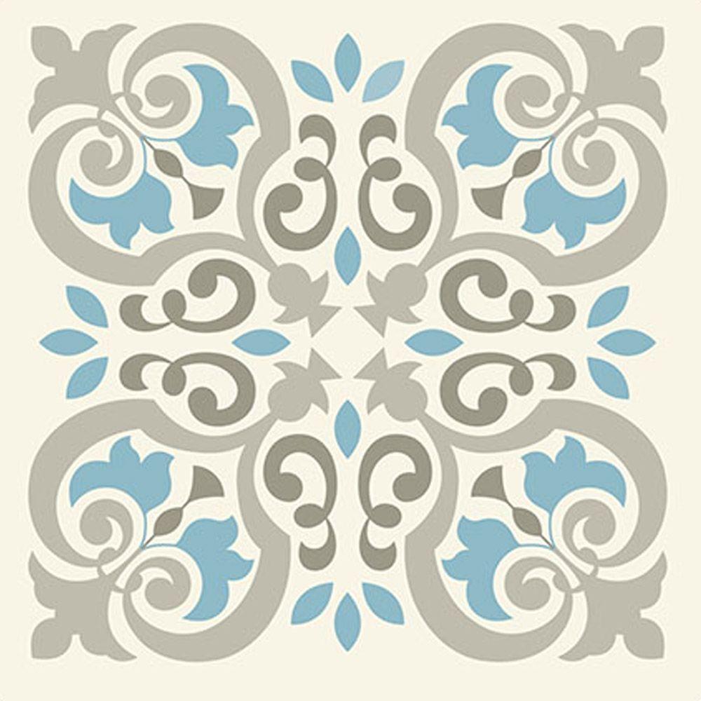 Vinil adesivo azulejo decorativo e parede vax 006 for Azulejos decorativos