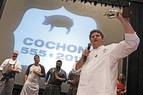 Chef Kelly English wins the Memphis Cochon 555 2012!
