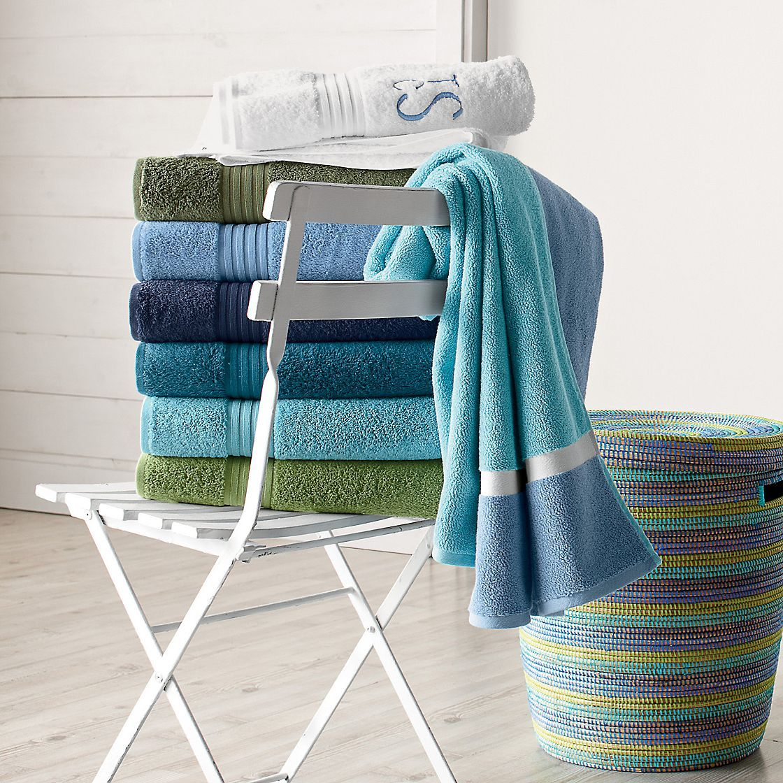 Company Cotton™ Turkish Bath Towels | The Company Store. The Company ...
