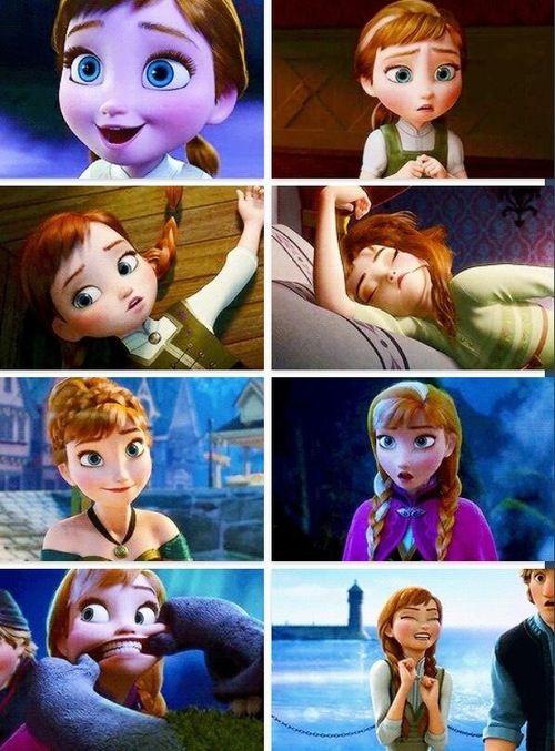 Anna. Frozen