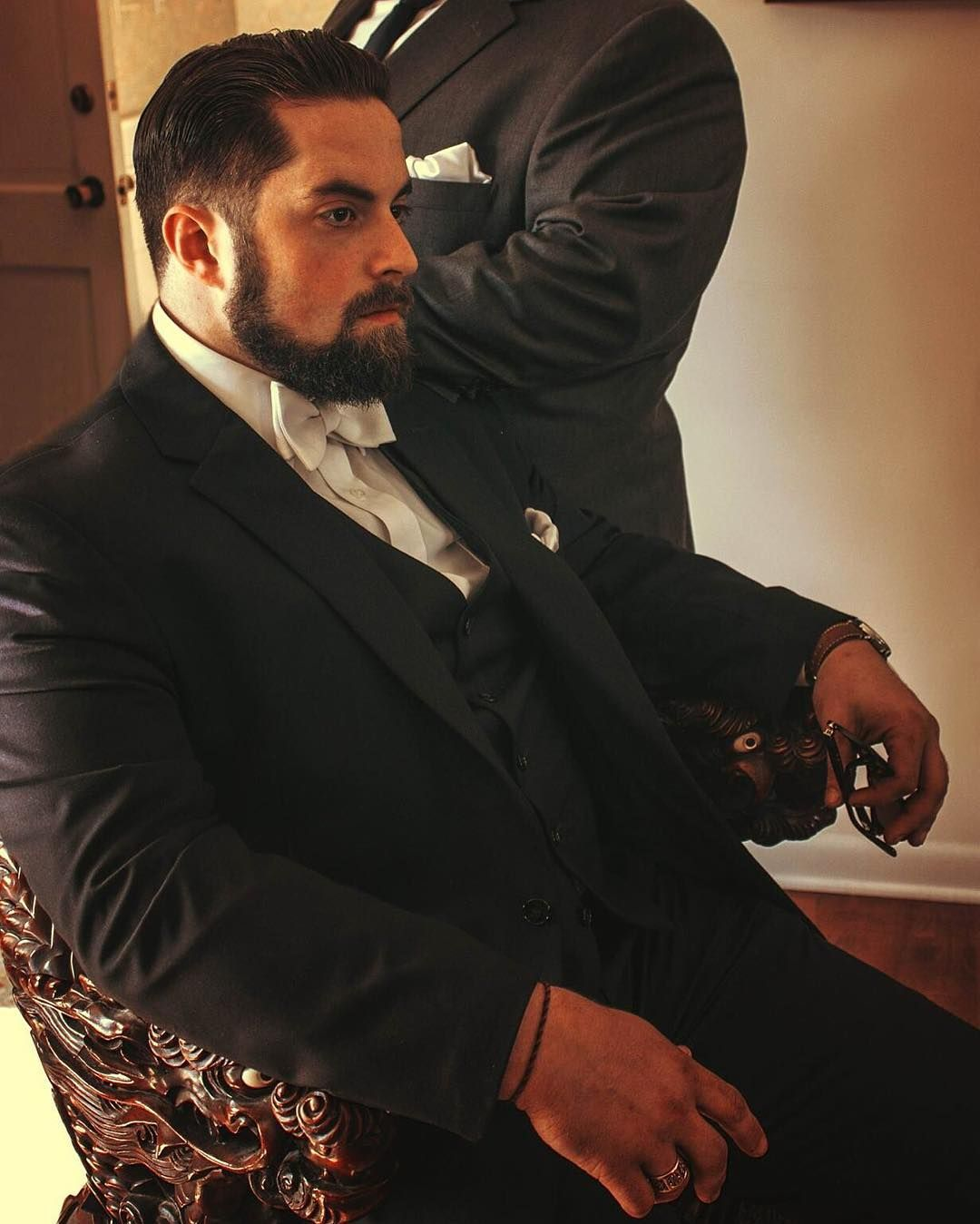 Wedding Beard Styles: #godfather #classy #family #wedding #gentleman #gentlemen