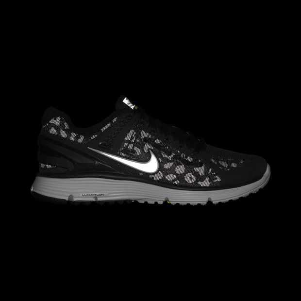 7c8de4709b1e Nike LunarEclipse+ 3 Shield Women s Running Shoe - black leopard print  Discount Nike Shoes