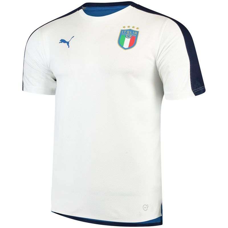 dabe0d8254 Italy Soccer Puma 2018 On-Field Stadium Training Jersey – White ...