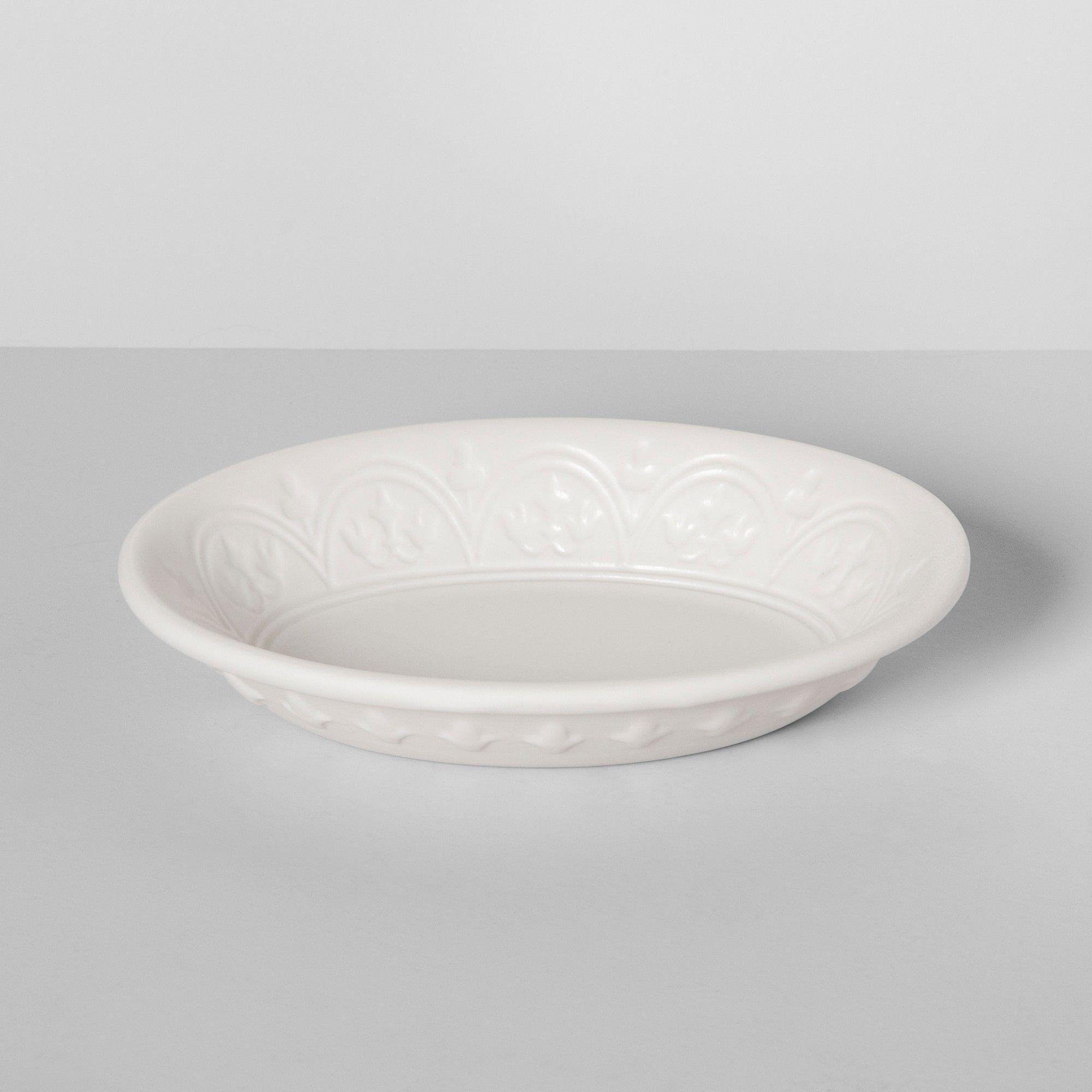 Mallorca Porcelain Soap Dish White Opalhouse Adult Unisex Porcelain Soap White Porcelain
