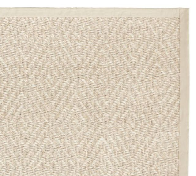 Stark Diamond Sisal Rug In Natural