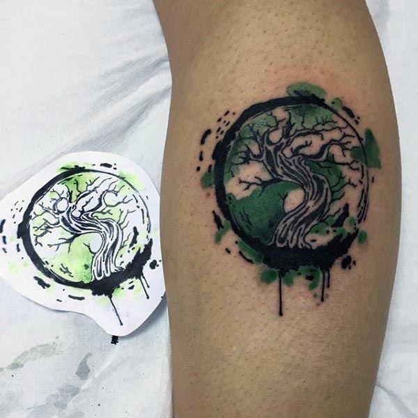 Bonsai Tattoo Meaning: 60 Bonsai Tree Tattoo Designs For Men