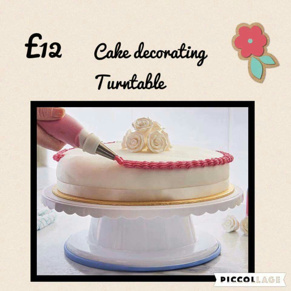 Makes decorating cakes easy.