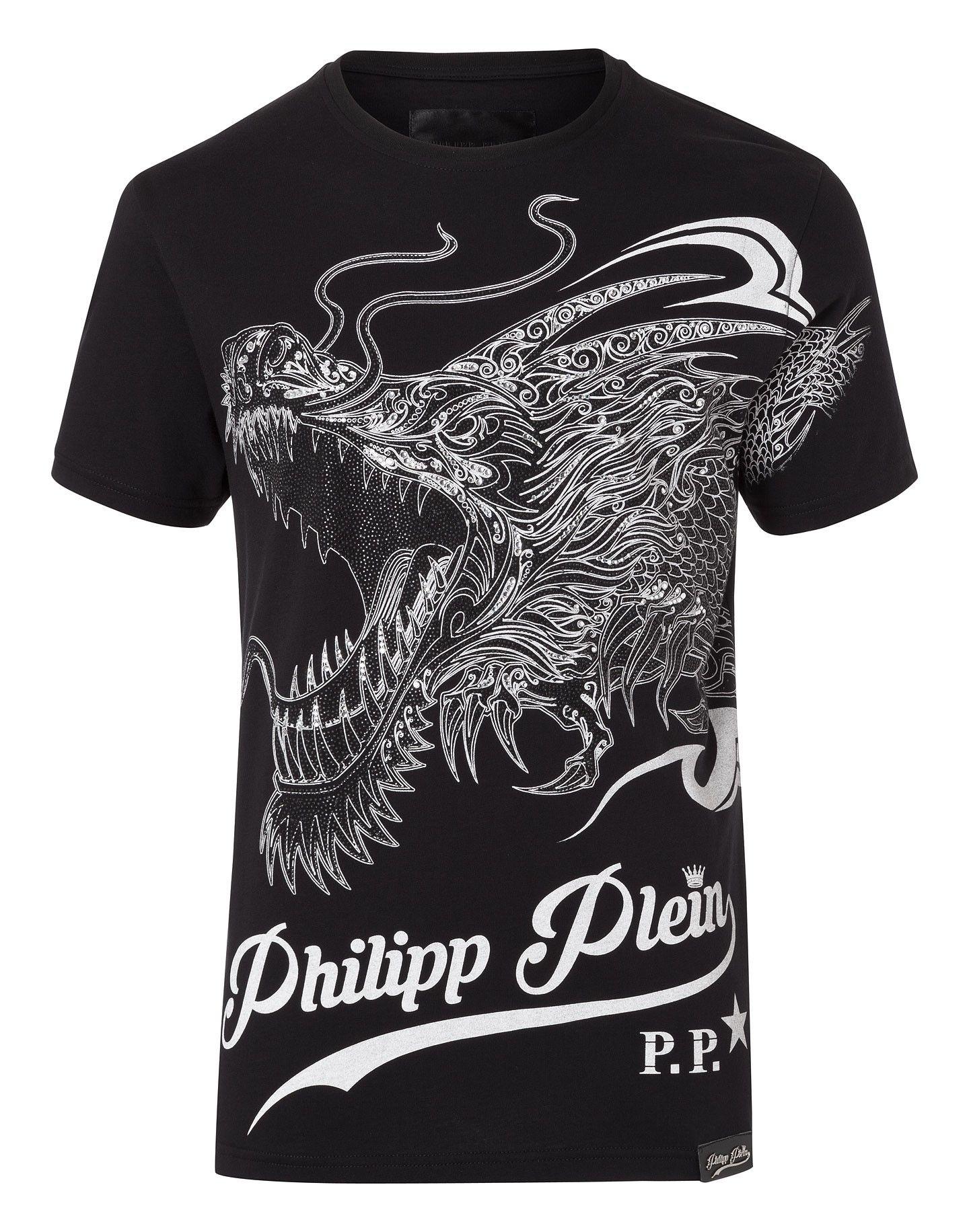 75d35c1da12a PHILIPP PLEIN T-Shirt Round Neck Ss