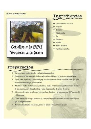 Libro de Cocina por Edgar Pinilla
