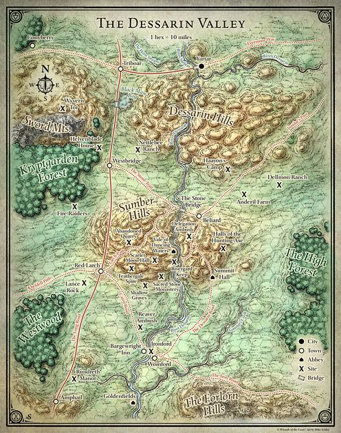 All individual maps digital fantasy map and rpg all individual maps princes of the apocalypse dessarin valley 5e digital dm player versions free gumiabroncs Gallery
