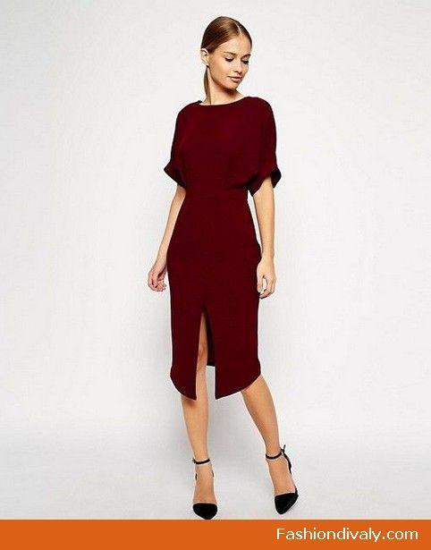 Midi Dress 2018 - What to wear midi dresses  mididress  midi  dresses   clothes  casual (23) c22f88c50d75