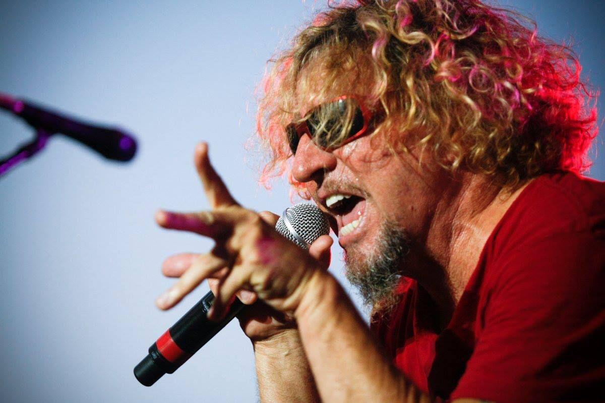Sammy Hagar Sammy Hagar Van Halen Red Rocker