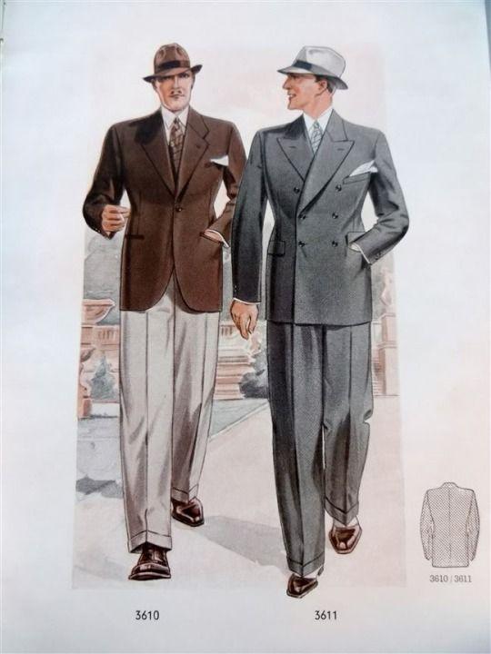 men fashion 1936 pressed collared 1930s men fashion. Black Bedroom Furniture Sets. Home Design Ideas