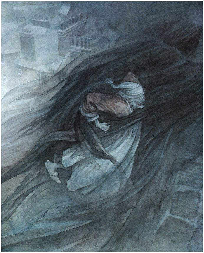 Ebenezer Scrooge and Ghost of Christmas Yet to Come from A Christmas Carol | Dickens christmas ...
