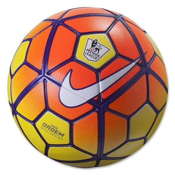Nike Epl Hi Viz Ordem 3 Ball Yellow Orange Soccer Balls Soccer Ball