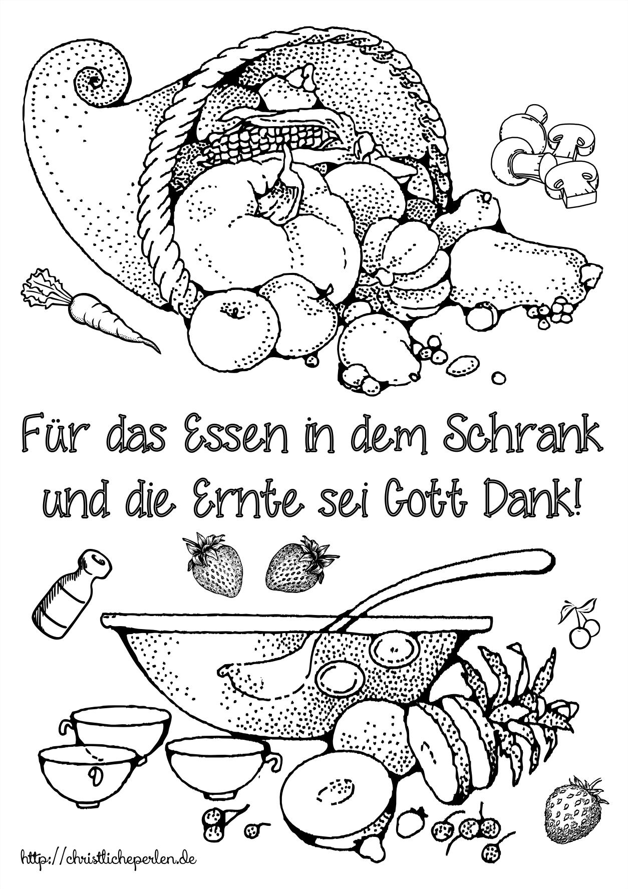 Ausmalbild erntedank religionsp dagogik pinterest for Stammbaum basteln mit kindern