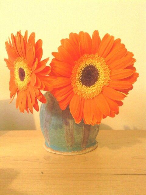 Ceramic pitcher vase