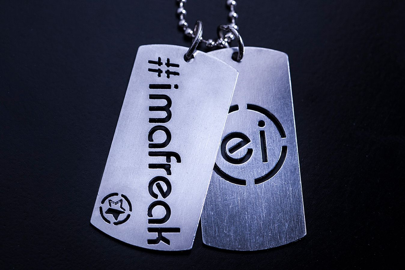 Get the limited edition Enrique #IMAFREAK star tags for only $24.95! 30% off. Free shipping in USA. 4 days only.