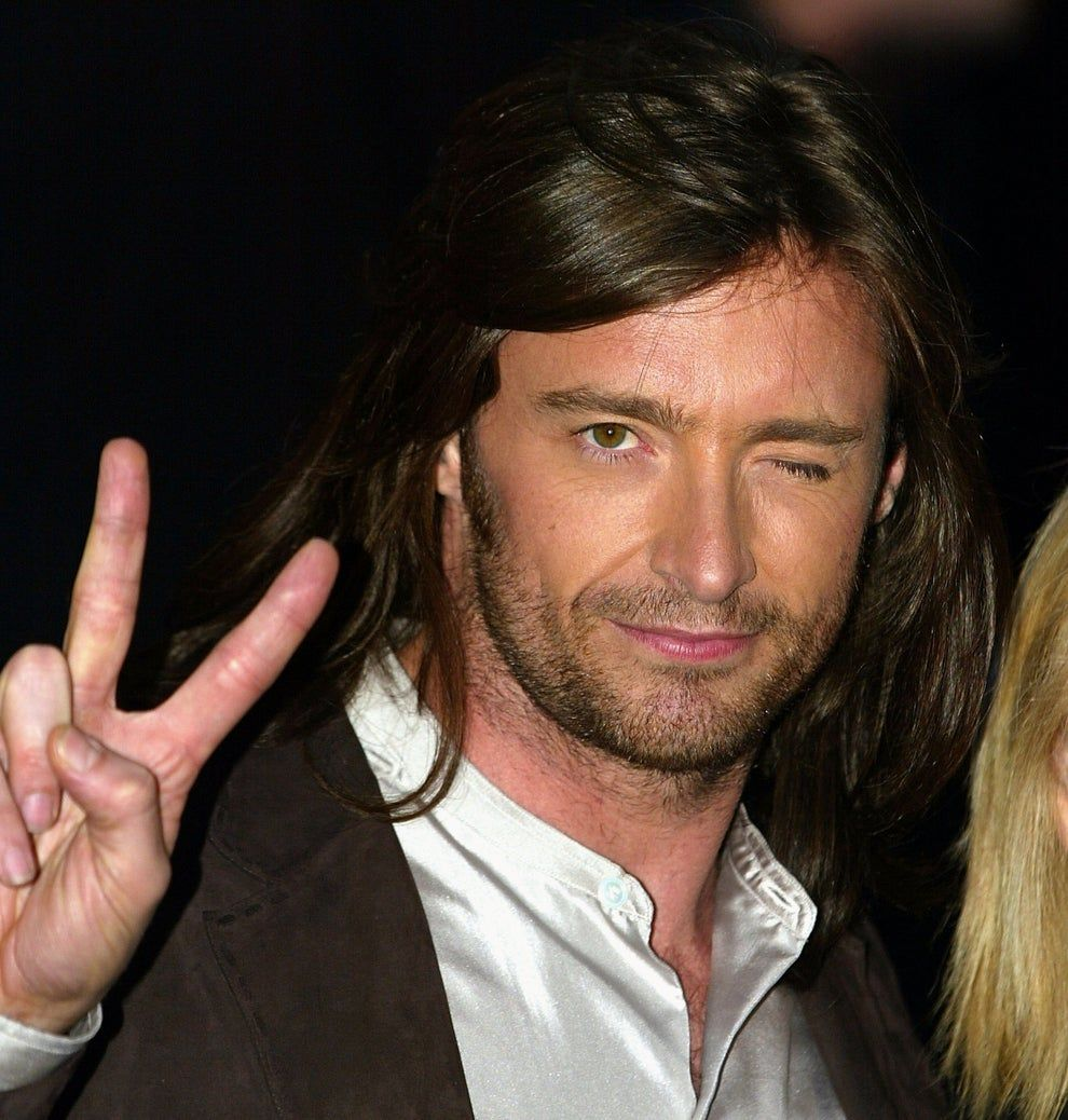 Hey Remember When Hugh Jackman Had Long Hair In 2020 Hugh Jackman Hugh Jackman Young Jackman